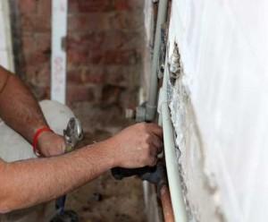 repairing flooded basement